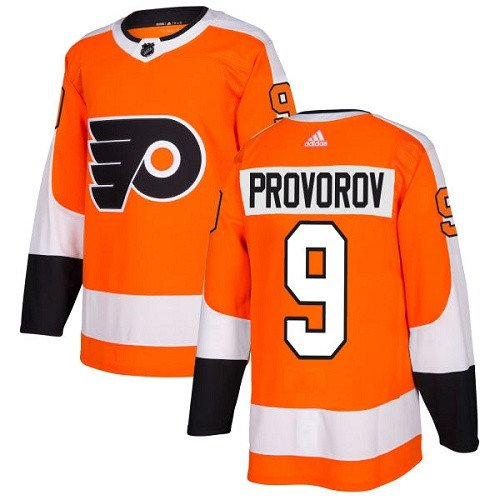 Youth Ivan Provorov Philadelphia Flyers Stitched Home Orange Jersey