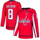 Youth Alex Ovechkin Washington Capitals Stitched Home Red Jersey