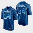 Chicago Bears #54 Brian Urlacher Blue NFC 2019 Pro Bowl Game Jersey