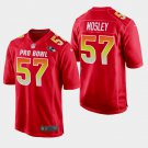 Baltimore Ravens #57 C.J. Mosley Red AFC 2019 Pro Bowl Game Jersey