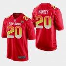 Jacksonville Jaguars #20 Jalen Ramsey Red AFC 2019 Pro Bowl Game Jersey