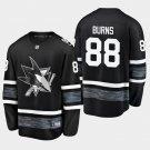 Men'S Sharks Brent Burns 2019 All-Star Game Parley Stitched Jersey Black