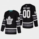 Men'S Maple Leafs Custom 2019 All-Star Game Parley Game Stitched Jersey Black