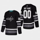 Men'S Capitals Custom 2019 All-Star Game Parley Game Stitched Jersey Black