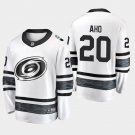 Carolina Hurricanes #20 Sebastian Aho 2019 All-Star Game Parley White Stitched Jersey