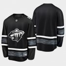 Minnesota Wild 2019 All-Star Game Parley Black Stitched Jersey
