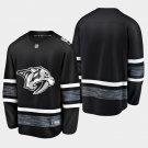Nashville Predators 2019 All-Star Game Parley Black Stitched Jersey