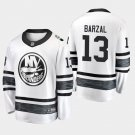 New York Islanders #13 Mathew Barzal 2019 All-Star Game Parley White Stitched Jersey