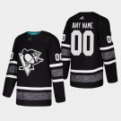 Pittsburgh Penguins #00 Custom All-Star Game Parley Game Black Stitched Jersey