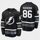 Tampa Bay Lightning #86 Nikita Kucherov 2019 All-Star Game Parley Black Stitched Jersey