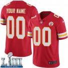 Men's Chiefs Customized Red Custom Stitched Jersey Super Bowl LIII