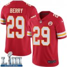 Men's Chiefs #29 Eric Berry Red Stitched Jersey Super Bowl LIII