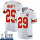 Men's Chiefs #29 Eric Berry White Stitched Jersey Super Bowl LIII