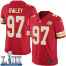 Men's Chiefs #97 Allen Bailey Red Stitched Jersey Super Bowl LIII