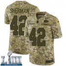 Anthony Sherman Men's Camo Stitched Jersey Super Bowl LIII #42 Chiefs