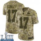 Chris Conley Men's Camo Stitched Jersey Super Bowl LIII #17 Chiefs