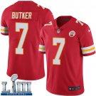 Men's Chiefs #7 Harrison Butker Red Stitched Jersey Super Bowl LIII
