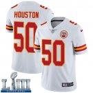 Men's Chiefs #50 Justin Houston White Stitched Jersey Super Bowl LIII