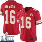 Men's Chiefs #16 Len Dawson Red Stitched Jersey Super Bowl LIII