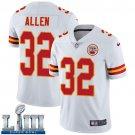 Men's Chiefs #32 Marcus Allen White Stitched Jersey Super Bowl LIII