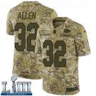 Marcus Allen Men's Camo Stitched Jersey Super Bowl LIII #32 Chiefs