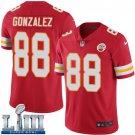 Men's Chiefs #88 Tony Gonzalez Red Stitched Jersey Super Bowl LIII