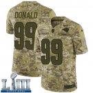 Men's Aaron Donald Rams Camo Stitched Jersey Super Bowl LIII #99
