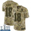 Men's Cooper Kupp Rams Camo Stitched Jersey Super Bowl LIII #18