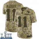 Patriots #11 Drew Bledsoe Men's Camo Stitched Jersey Super Bowl LIII