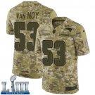 Patriots Kyle Van Noy Men's Camo Stitched Jersey Super Bowl LIII