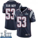 Patriots Kyle Van Noy Men's Home Navy Blue Stitched Jersey Super Bowl LIII