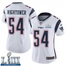 Patriots #54 Dont'a Hightower Women's Road White Stitched Jersey Super Bowl LIII