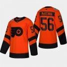 Men's 2019 Stadium Series Flyers Mike Mckenna Orange ALL Stitched Jersey