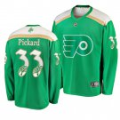 Men's Flyers Calvin Pickard 2019 St. Patrick's Day Green Stitched Jersey