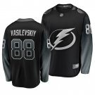 Men's Lightning #88 Andrei Vasilevskiy Alternate Black Stitched Jersey