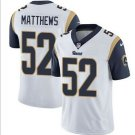 Nike Los Angeles Rams #52 Clay Matthews White Limited Jersey