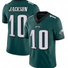 Nike Philadelphia Eagles 10 DeSean Jackson Green Limited Jersey