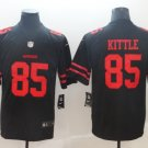 Nike San Francisco 49ers 85 George Kittle Black Limited Jersey