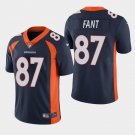 Men's 2019 Denver Broncos #87 Noah Fant Limited Navy Jersey