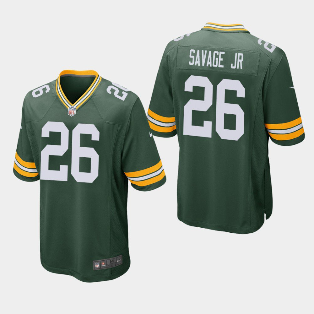 2019 Bay Packers Green Jersey