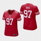 Women's 2019 49ers Nick Bosa Game Scarlet Jersey