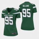 Women's 2019 New York Jets #95 Quinnen Williams Game Green Jersey