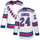 New York Rangers #24 Kaapo Kakko White Stitched Jersey