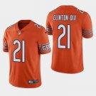 Men's Bears 21 HaHa Clinton-Dix Orange Limited Stitched Jersey