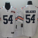 Men's Bears 54 Brian Urlacher White Alternate 100th Limited Stitched Jersey