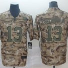 Men's Browns 13 Odell Beckham Jr 2018 Camo Salute to Service Limited Stitched Jersey