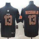 Men's Browns 13 Odell Beckham Jr Black Vapor Impact Limited Stitched Jersey