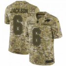 Men's Buffalo Bills 6 Tyree Jackson Camo 2018 Salute to Service Limited  Stitched Jersey