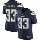 Men's Chargers 33 Derwin James Navy 100th Season Limited Stitched Jersey