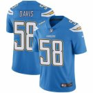 Men's Chargers 58 Thomas Davis Light Blue Limited Jesrey